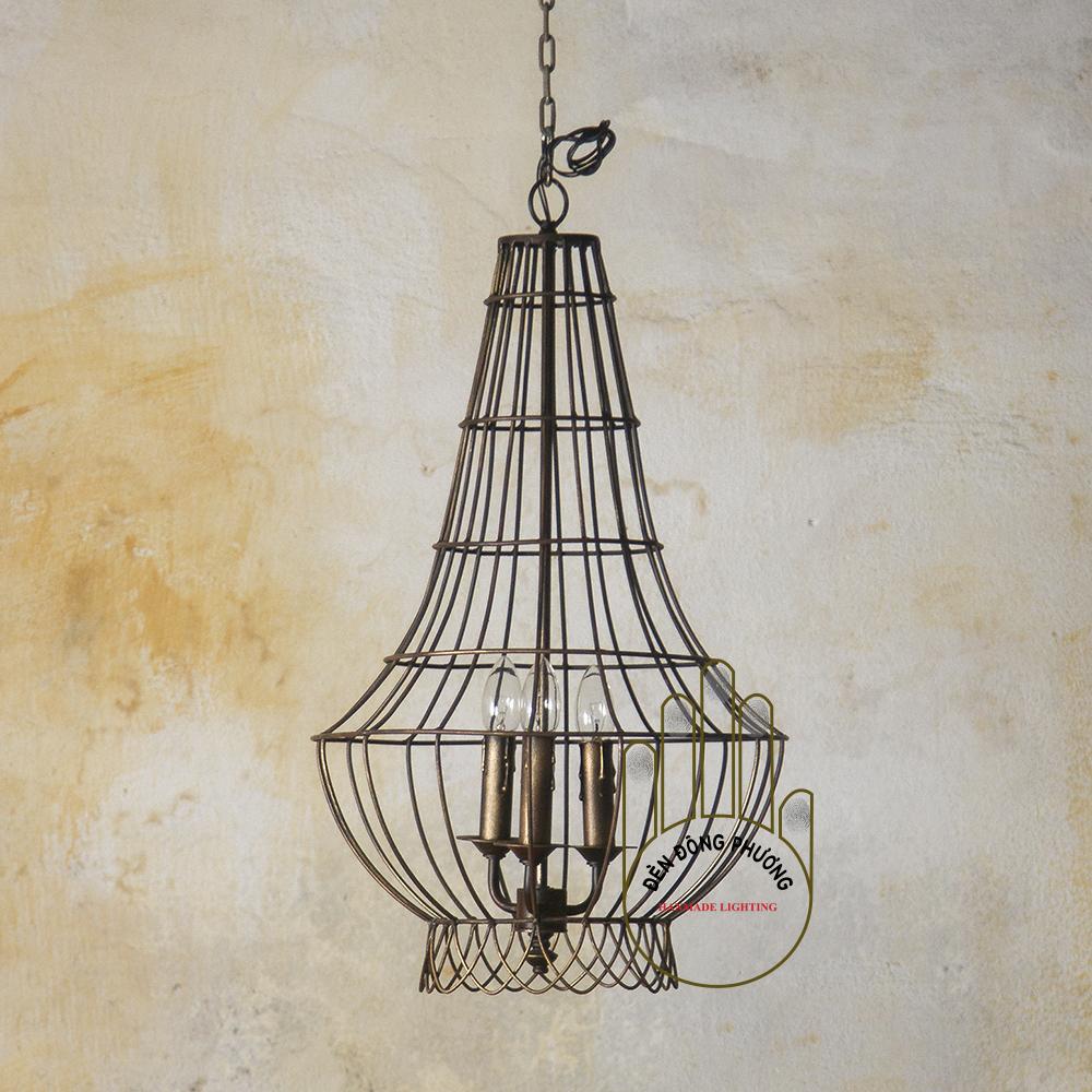 đèn chùm lồng chim kiểu pháp 1128