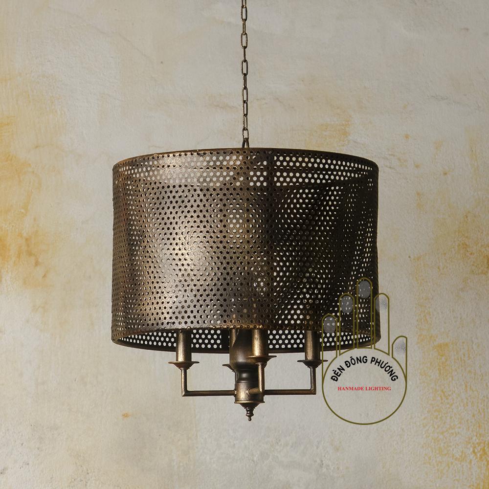 đèn chùm sắt cổ điển châu âu 1129