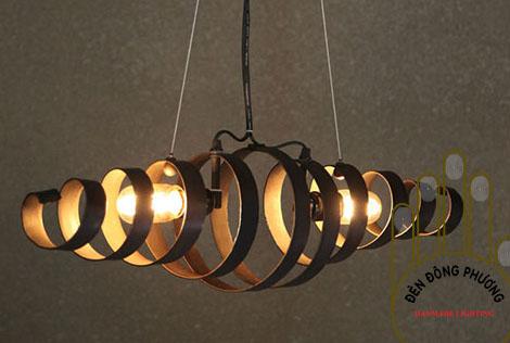đèn chùm hiện đại thiết kế theo yêu cầu