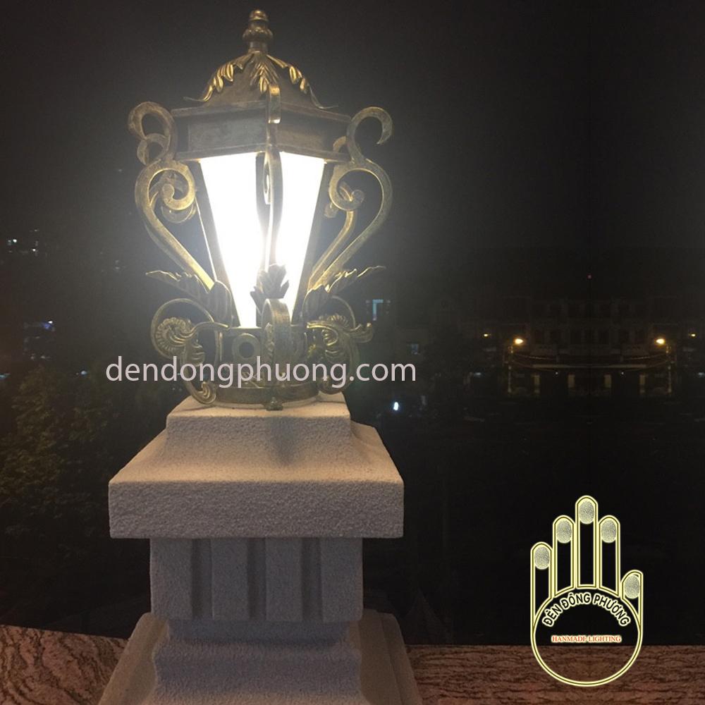đèn trụ cổng biệt thự DDP 3038